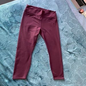 Maroon Fabletics Leggings